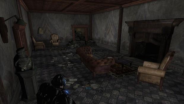 Residence Hall Fireplace