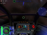 Cockpit of theTriton Bomber