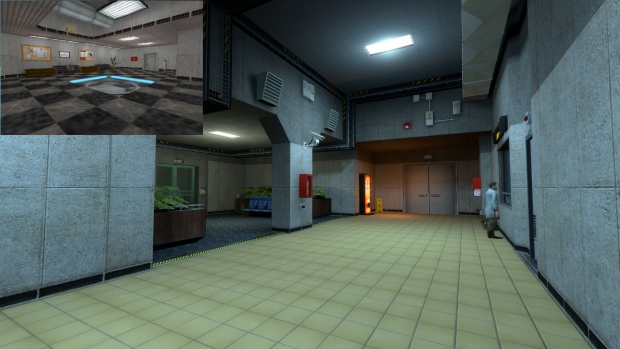 Heavy WIP of the Lobby.