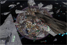 Battle of Coruscant -  Mitthrawnuruodo