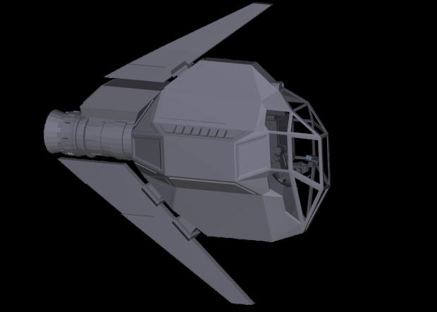 AP6364 Piranha Light Fighter - W.I.P.