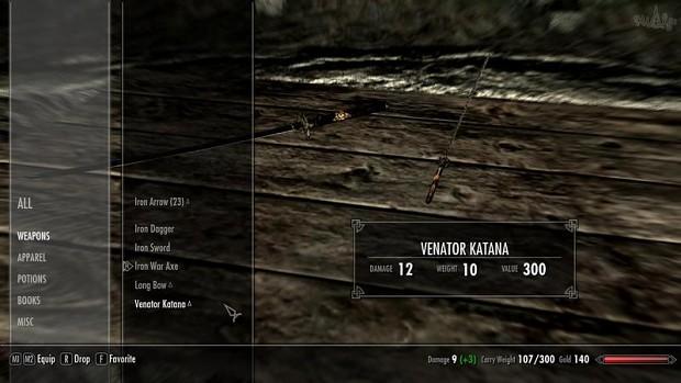 Venator Katana