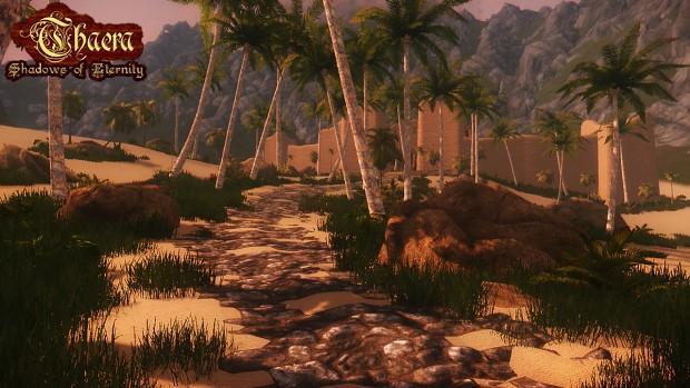 Desert & City WIP