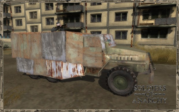 Ural armored