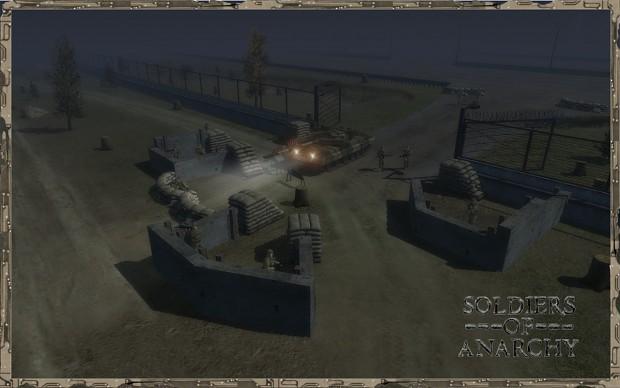 Army outpost (quarantine cordon)