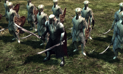 Thranduil and his Guards
