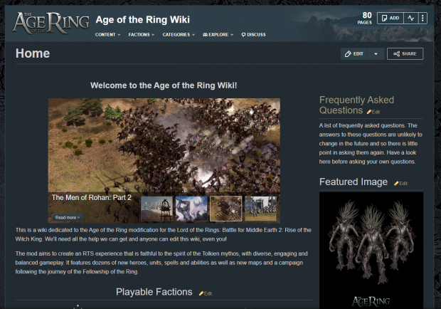 The Age of the Ring Wiki