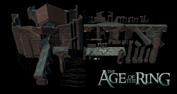 Dol Guldur fortress props