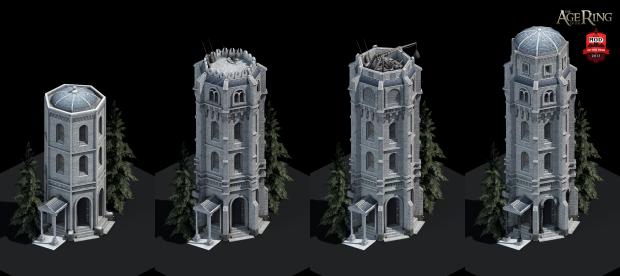 Gondor civilian towers, Age of Empires II