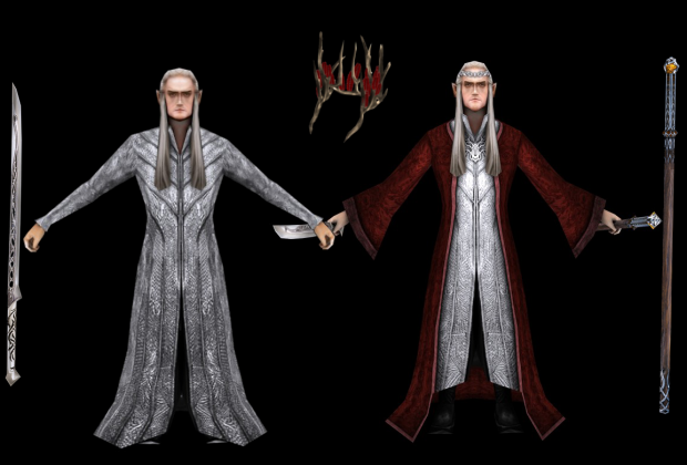Thranduil and his alternate skins