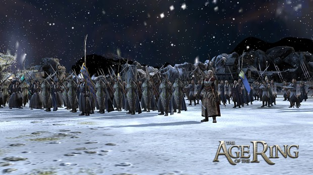 An army of Wood-elves...