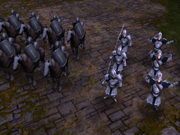 Gondor's Knights and Soldiers are in-game !