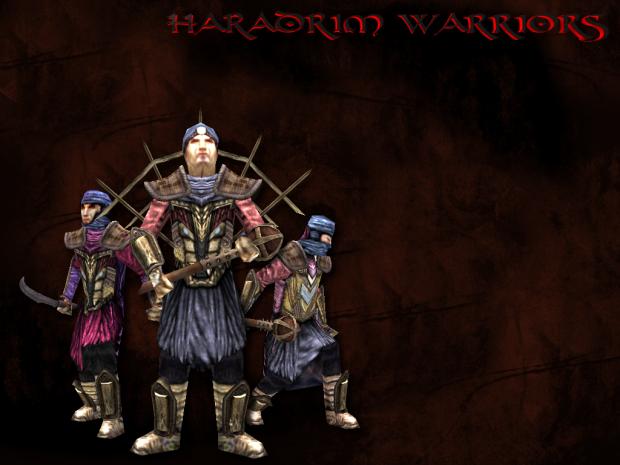 Haradrim Warriors IN PROGRESS