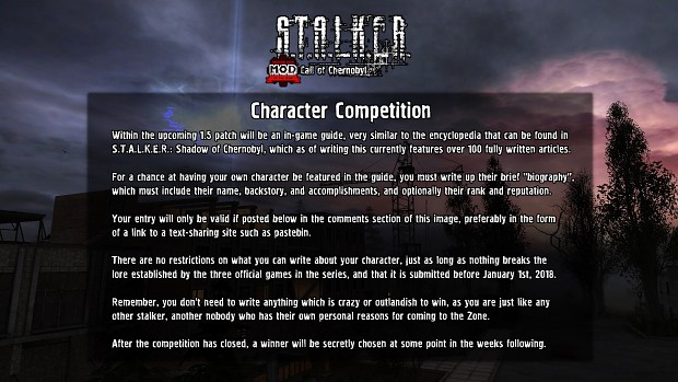 Character competition