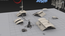 Creating prefab structure props