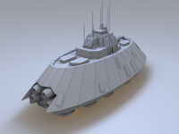 Republic Thannus Destroyer