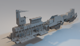 Mining and industry vessel.