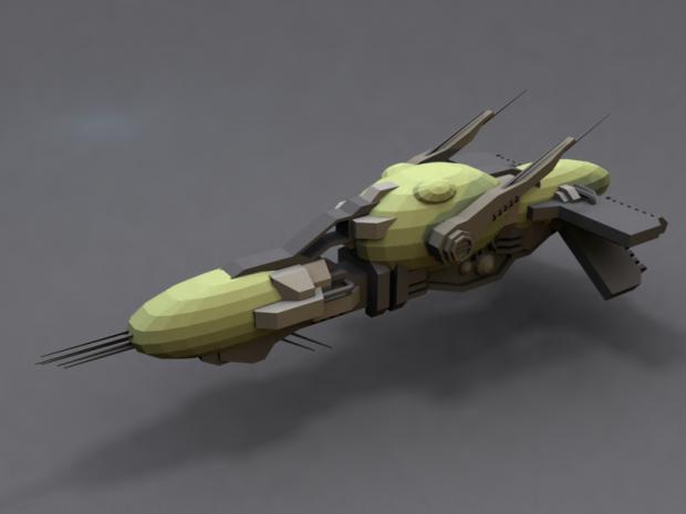 Mandalorian Cruiser Concept.
