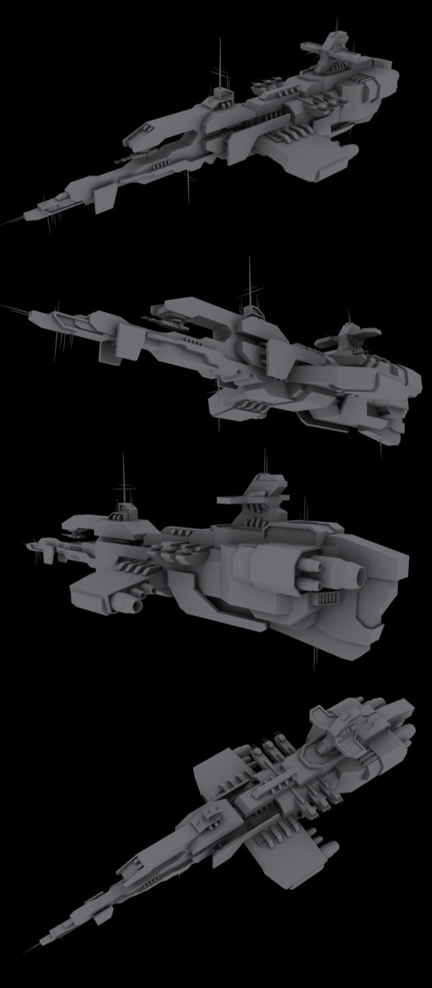 Scimitar Class Heavy Cruiser