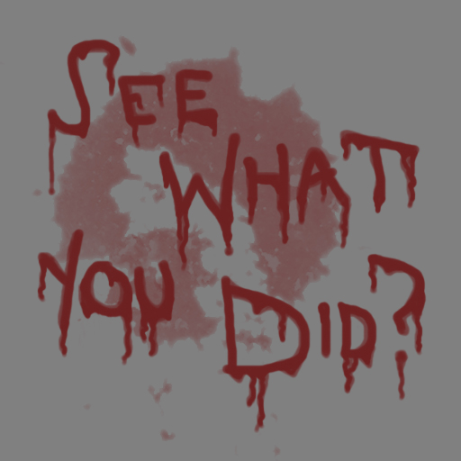 See what you did? (Decal)