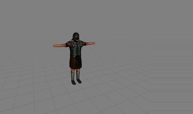 Retextured Legionare armor and Legionaire helmet.