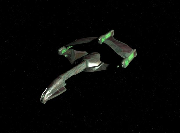 Romulan V11 Sparrowhawk class