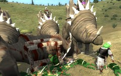Ceratopsian vs Shrek