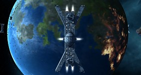 Bastion Class Orbital Weapons Platform