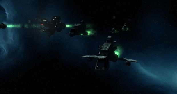 Rheinland Fleet Maneuvers