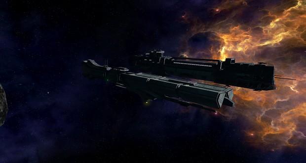 Auroch Supply Frigate in game