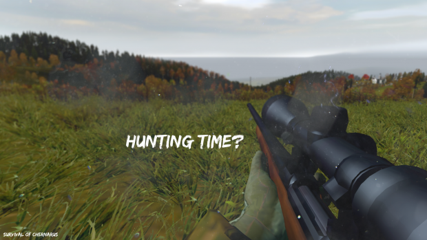 Hunting time?
