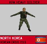 KPA (North Korea) Heavy Soldier
