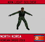 KPA (North Korea) Light Soldier