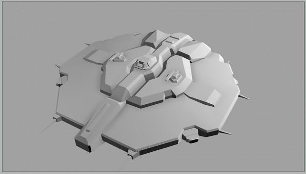 Hiigaran Flank Cruiser model