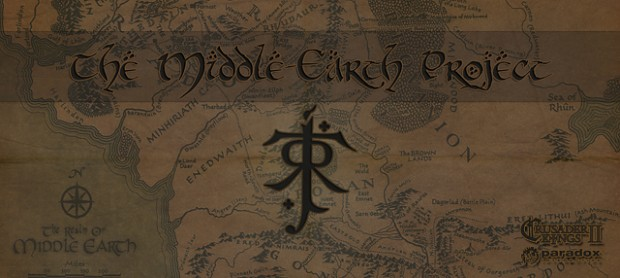 CK2: Middle Earth Project Banner