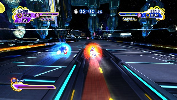 Sonic Rival Demonstration