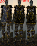 Ebony armor set