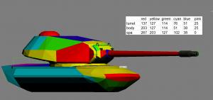 m103 armor layout