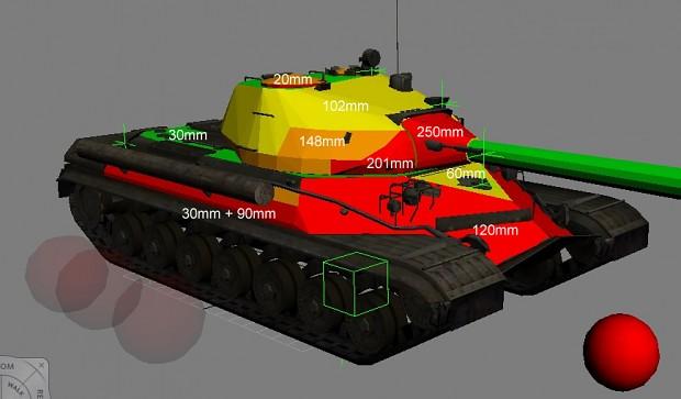 T-10M armor specs