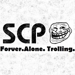 SCP-Containement Meme Logo: Forever Alone Trolling