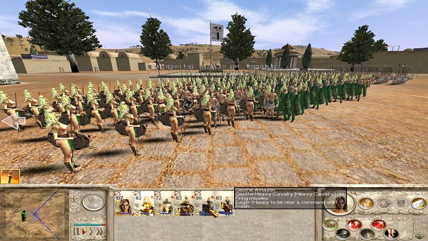 18+ Viewers Only - Amazons Total War, Amazon Militia Spear Maiden test