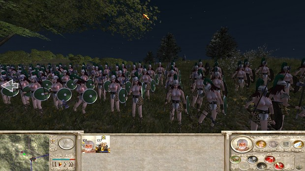 18+ Viewers Only - Amazons Total War, Atgeir Maiden transition test