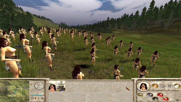 18+ Viewers Only - Amazons Total War, Amazon Peasant  test