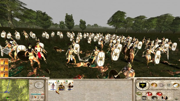 18+ Viewers Only - Amazons Total War, Amazon Xiphos Cohort test