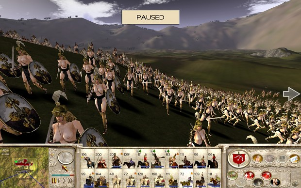 18+ Viewers Only - Amazons Total War, Amazon Sword Maiden test