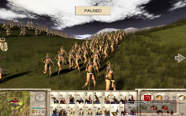 18+ Viewers Only - Amazons Total War, Amazon Shield Maiden test