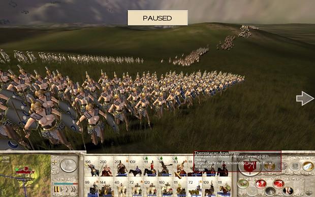 18+ Viewers Only - Amazons Total War, Amazon Rebel Lanciarii
