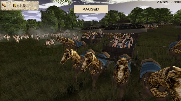 Charge of Far East Celt War Wagons