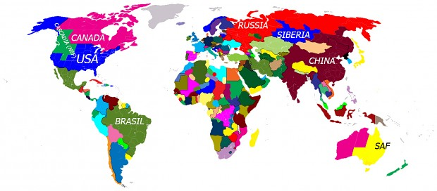 2052 Map of the world