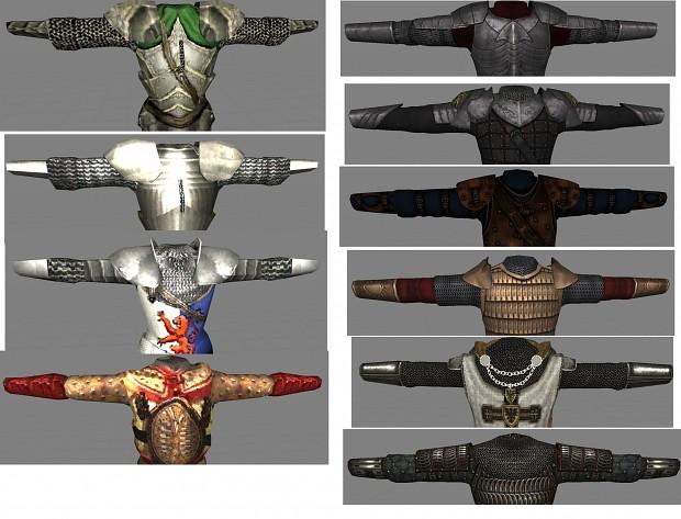 0.7 to 0.8 armor comparison